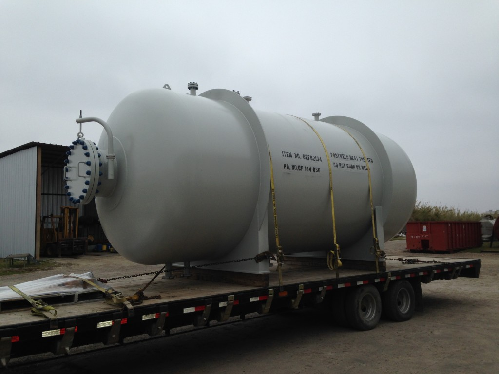 Carbon Steel Aggressive Service Vessel