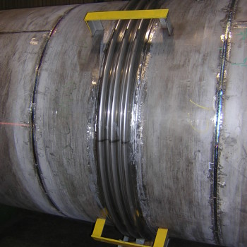 Engineered Bellows Expansion Joint Installed
