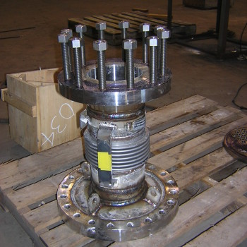 Exchanger Tail-pipe with Bellows Expansion joint